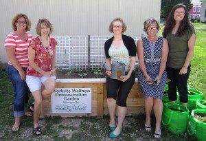Worksite Garden Box