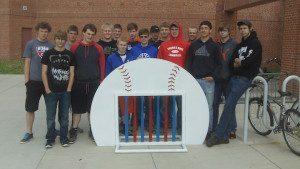 Decorah- Softball with bats