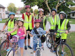 Clermont Biking School Bus