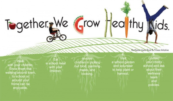 Together, We Grow Healthy Kids